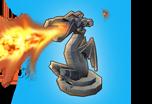 Trap Profile Rotating Cannon 1 Flame