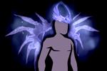 Costume Icy Crown Wings
