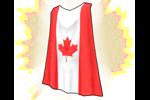 Costume Canada Cape