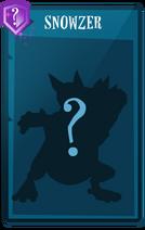Card Snowzer Silhouette EN