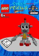LEGO Cyber Mixels Brawl Saharat Package Bag