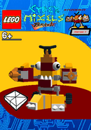 LEGO Cyber Mixels Brawl Kazooka Package Bag