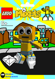 LEGO The Mixels Show Luqman2 Package Bag