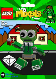 LEGO The Mixels Show Edd Gould Package Bag