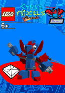 LEGO Cyber Mixels Brawl Drazor Package Bag