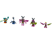 Cyber Mixels Models 3 1 of 4