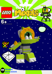LEGO The Mixels Show Galaxo Package Bag