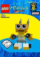LEGO Cyber Mixels Brawl Luqman2 Package Bag