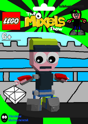LEGO The Mixels Show Tailsfangames1235 Package Bag