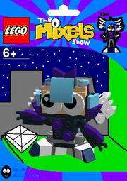 LEGO The Mixels Show Ninh Package Bag