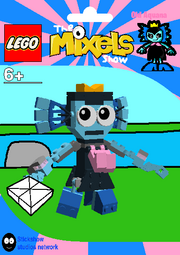 LEGO The Mixels Show Old Aquana Package Bag