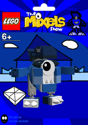 LEGO The Mixels Show Sando Package Bag
