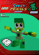 LEGO Cyber Mixels Melee Dash Package Bag