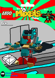 LEGO The Mixels Show Altair Package Bag