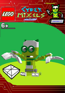 LEGO Cyber Mixels Melee Runny Package Bag
