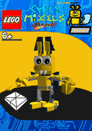 LEGO Cyber Mixels Brawl Glowson Package Bag