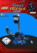 LEGO Cyber Mixels Melee Arrestso Package Bag