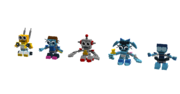 Cyber Mixels Models 3 of 4