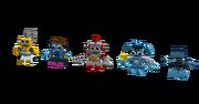 Cyber Mixels Models 3 of 4