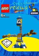 LEGO Cyber Mixels Brawl Illumineck Package Bag