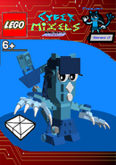 LEGO Cyber Mixels Melee Tsubaki Package Bag