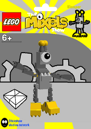 LEGO The Mixels Show Klamper Package Bag