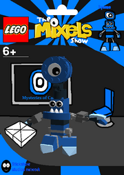 LEGO The Mixels Show Eyemo Package Bag