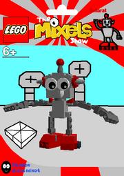 LEGO The Mixels Show Saharat Package Bag