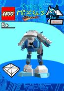 LEGO Cyber Mixels Brawl Chiyo Package Bag