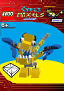 LEGO Cyber Mixels Melee Dazzier Package Bag
