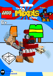 LEGO The Mixels Show Krohootus Package Bag