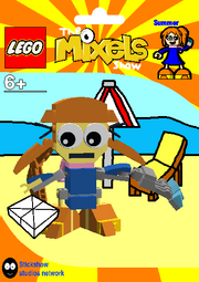 LEGO The Mixels Show Summer Package Bag