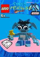 LEGO Cyber Mixels Brawl Aquana Package Bag