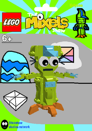 LEGO The Mixels Show Kelpsea Package Bag
