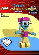 LEGO Cyber Mixels Melee Mirella Package Bag