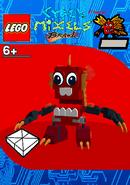 LEGO Cyber Mixels Brawl Fyke Package Bag