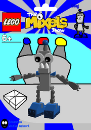 LEGO The Mixels Show Cling Package Bag