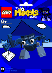 LEGO The Mixels Show Madin Package Bag