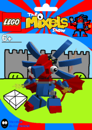 LEGO The Mixels Show Drazor Package Bag