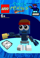 LEGO Cyber Mixels Brawl Lqman4421 Package Bag