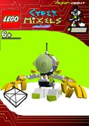 LEGO Cyber Mixels Melee Nurp-Naut Package Bag