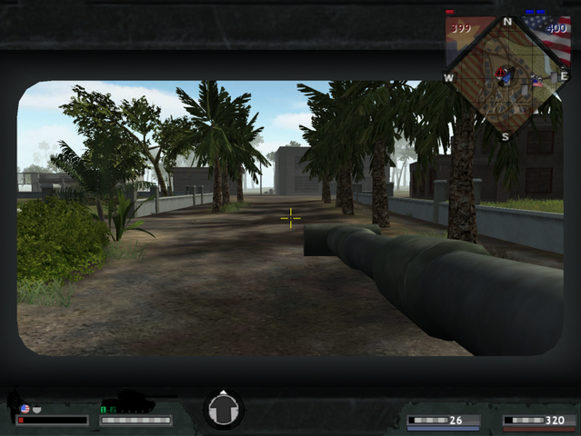 File:A wounded soldier in an M48 Patton.png