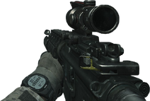 An M4 with ACOG