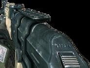 Dimitri with an AK47