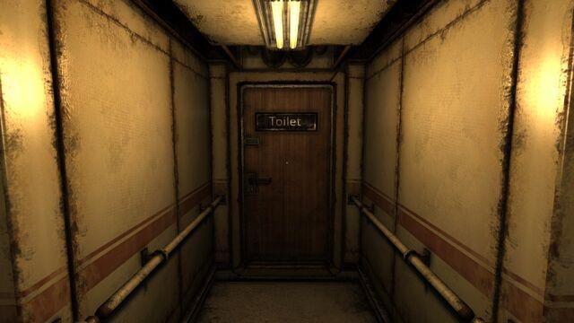 File:Washroom door.jpg