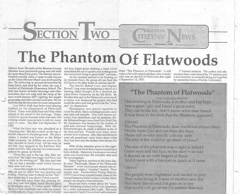 Braxton Citizens News Nov 3 1998