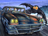 Scarberry and Mallette's Mothman Sighting