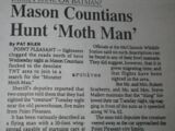 Mason Countians Hunt 'Moth Man'