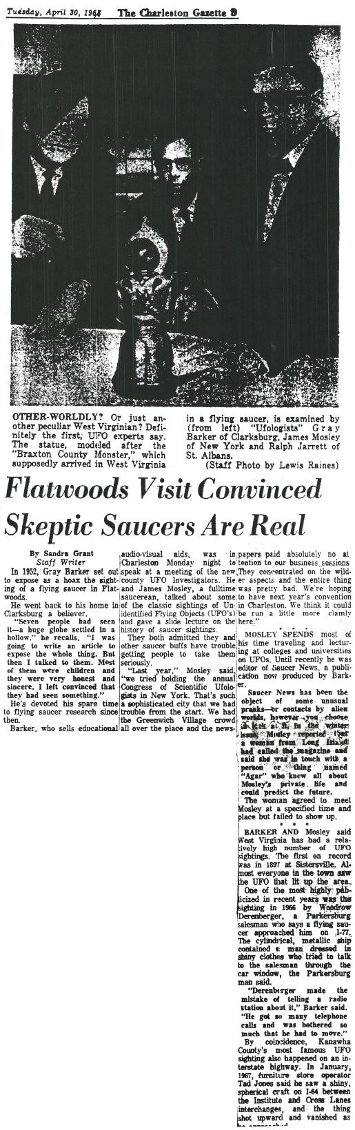 Charleston Gazette April 30 1968 b