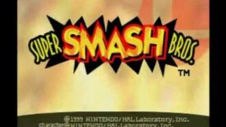 Super Smash Bros. - Intro Nintendo 64 (HQ)